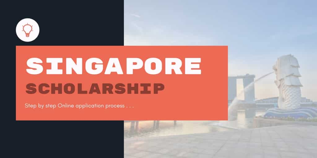 Singapore Scholarships for international students