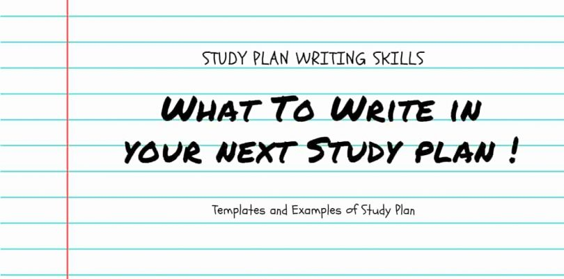 Study skills essay