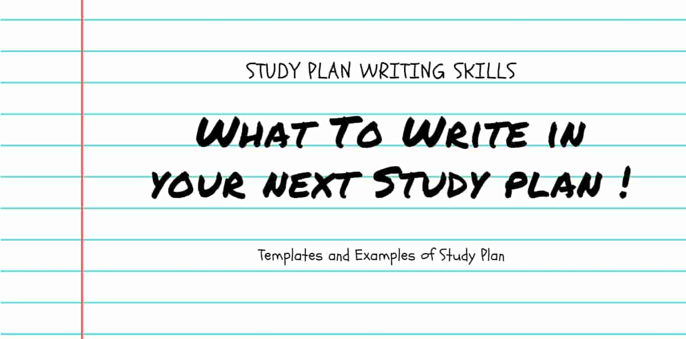 essay about study plan This article explains the 6 main components found on most study abroad applications and provides tips for crafting a personal statement and essay.