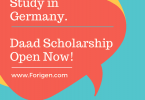 Daad Germany Scholarship - Study in Germany for free