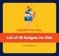 List of gadgets for Kids - Kids gadgets