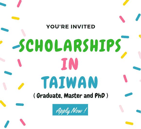 Taiwan Government Scholarships - 2020 - National Tsing Hua ...