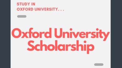 Oxford Pershing Square Scholarship 2020-2021