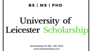 University of Leicester Scholarships for international Students 2020-2021