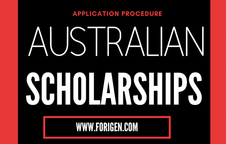 Australian Awards scholarship
