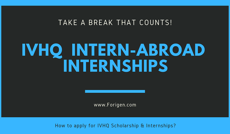 IVHQ intership for students IVHQ Scholarships