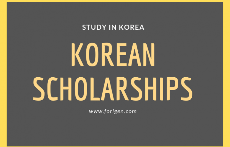 Korean Government Scholarships