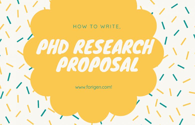 Phd research proposal