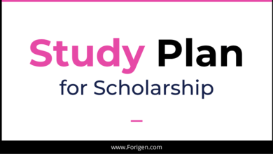 Study Plan for Chinese Scholarship Application: Study Plan Samples, Examples and Template