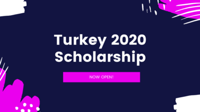 2020 Turkey burslari Scholarship