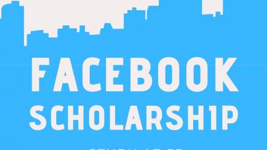 Facebook Scholarship - fb scholarship online application process