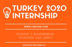 Turkey internships