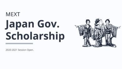 Mext Japan Scholarship 2020-2021