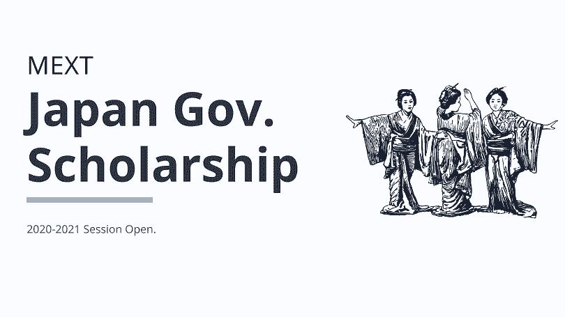 MEXT: Japan Government Scholarship 2020-2021 - APU ...