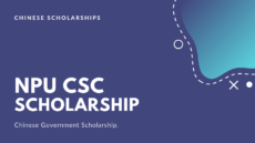 NPU China CSC Scholarship