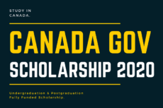 Canada Government Scholarship