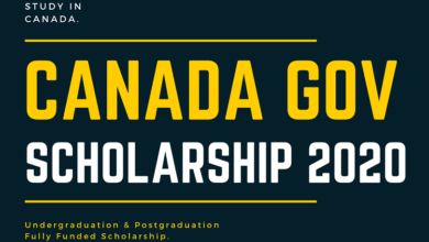 Canada Government Scholarship