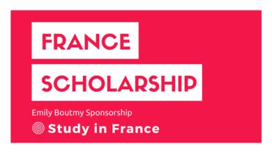 France Emily Boutmy Scholarship