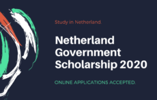 Netherland Government Scholarship 2020