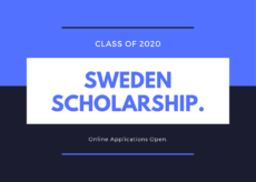 Sweden Government Scholarship