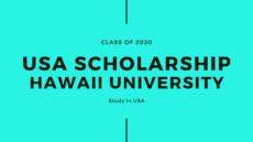 USA Scholarship Hawaii University