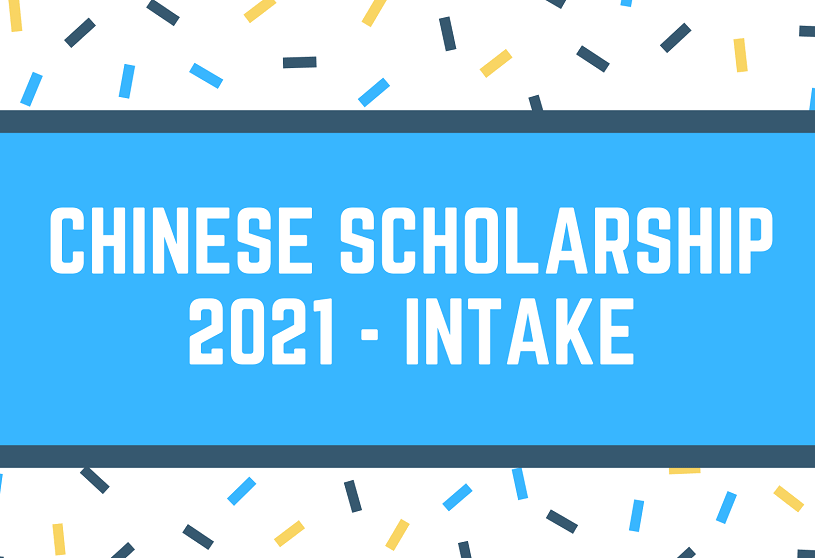 Chinese Government Scholarship 2021 Session - CSC Scholarship 2021