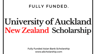 University of Auckland Scholarship in New Zealand - World Bank Scholarship