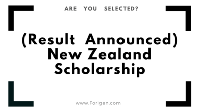 Result Announcement New Zealand Government Scholarship (Interview Call)