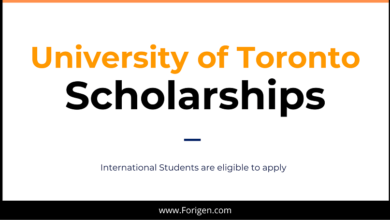 University of Toronto (Canada) Scholarship 2021 for international Students