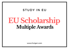 EU Academic Excellence Award Scholarship Deadline September