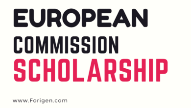 European Commission Scholarships 2021-2022