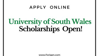 University of New South Wales (UNSW) Scholarship 2021 for international Students