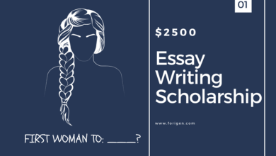 Essay Writing Scholarship 2020-2021 ($2500 Award)