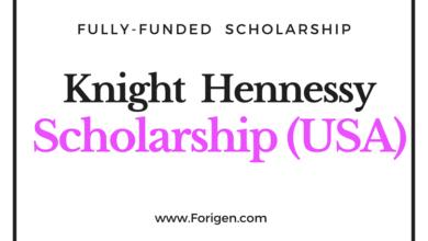 Knight-Hennessy Scholarship 2021-2022 (Stanford University)