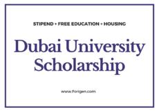 UAE University Scholarships for International Students