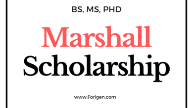 Marshall Scholarship Application Process
