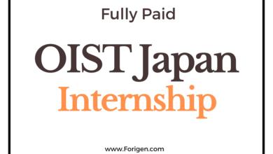 OIST Japan Research Internship