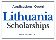 2021 Lithuania Scholarships Lithuanian Scholarships Applications Window Open!