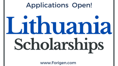 2021 Lithuania Scholarships Lithuanian Scholarships Applications Window Open!