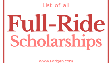 List of Full Ride Scholarships in 2021 How to apply for Full-Ride Scholarships