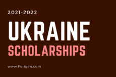 Ukraine Scholarships 2021-2022