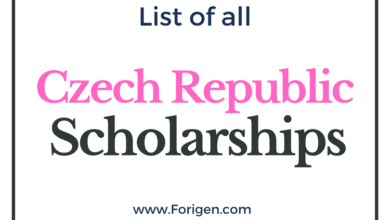 Czech Republic Scholarships 2021-2022: List of Top Scholarships in Czech Universities and Colleges
