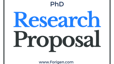 Ph.D Research Proposal Format, Outline, and Sample