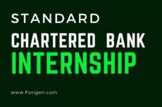 Standard Chartered Bank Internships 2021-2022