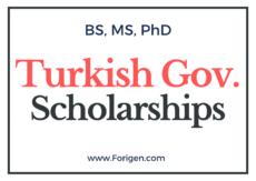 Turkey Government Scholarship 2021 Online Applications Portal Open