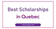 Best Scholarships in Quebec