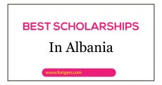 albania scholarships