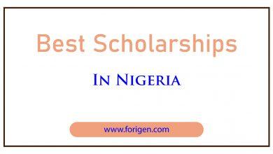 Best Scholarships in Nigeria