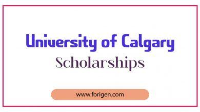 University of Calgary Scholarships