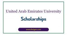 United Arab Emirates University Scholarships